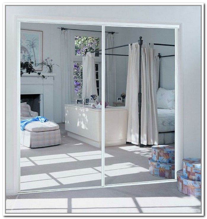94 Best Images About Mirrored Closet Doors On Pinterest