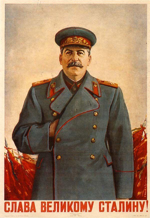 """""""Slava velikomu Stalinu"""" """"Viva el Gran Stalin"""""""