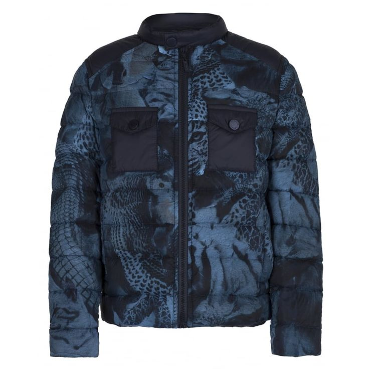 Roberto Cavalli Junior Boys Down Jacket New Childrenswear Autumn/Winter
