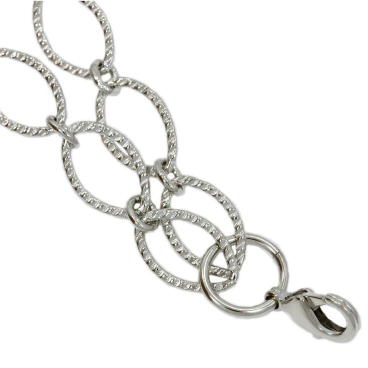 "South Hill Designs Textured Oval Chain 32"" 26.00"
