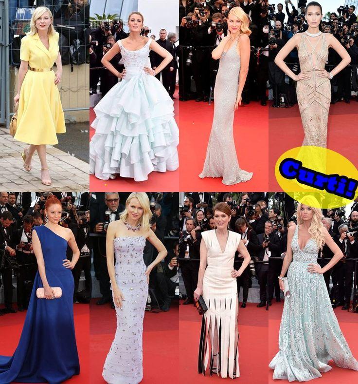 Looks do festival de Cannes 2016. Desses eu gostei!!