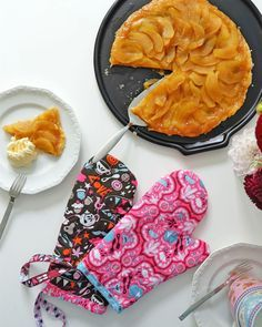 DIY Topfhandschuhe Ofenhandschuhe | nähen | sewing | was eigenes DIY Blog