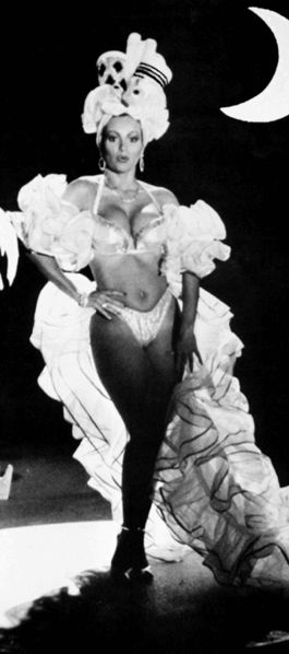 Iris Chacón is a dancer, singer, and entertainer. She enjoys great popularity in Puerto Rico and in other Latin American countries. Puerto Rican version of Marilyn Monroe!