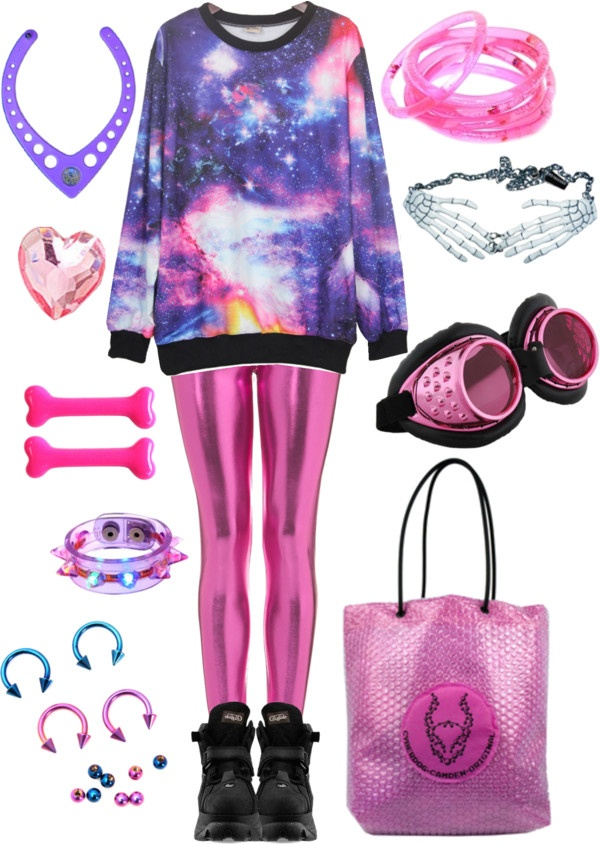 """""""Galaxy jumper"""" by twisted-candy on Polyvore"""