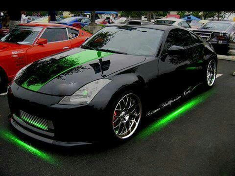 508 best images about nissan 350z 370z on pinterest cars nissan z and nissan 350z - Underglow neon ...