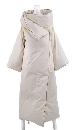 I could sleep in this Margiela coat.....