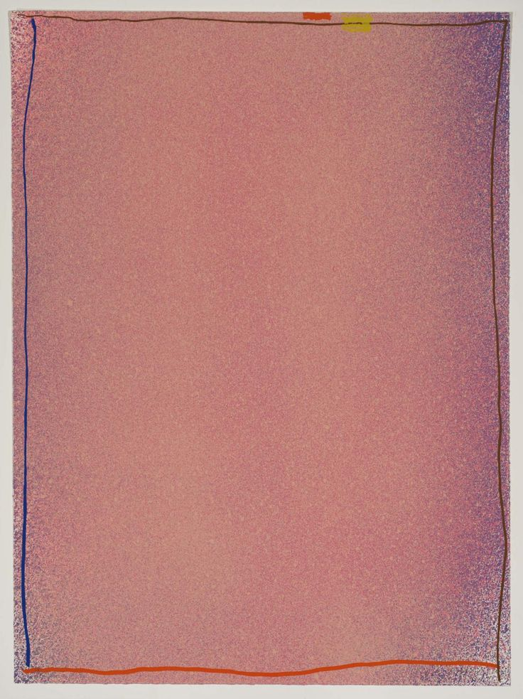 Jules Olitski 'Pink-Blue I', 1970 © Jules Olitski/VAGA, New York and DACS, London 2015