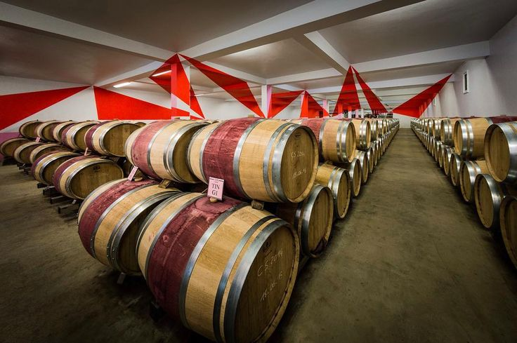 Chateau Chasse Spleen by Rick McEvoy interior photographer. This is the original edit of the picture of the splendid vineyard in Bordeaux with the art everywhere you look including the 9 red triangles only visible from this exact location. #architecturalphotographer #buildingphotographer #commercialphotographer #constructionphotographer #constructionproductphotographer #freelancephotographer #industrialphotographer #interiorphotographer #landscapephotographer #productphotographer…