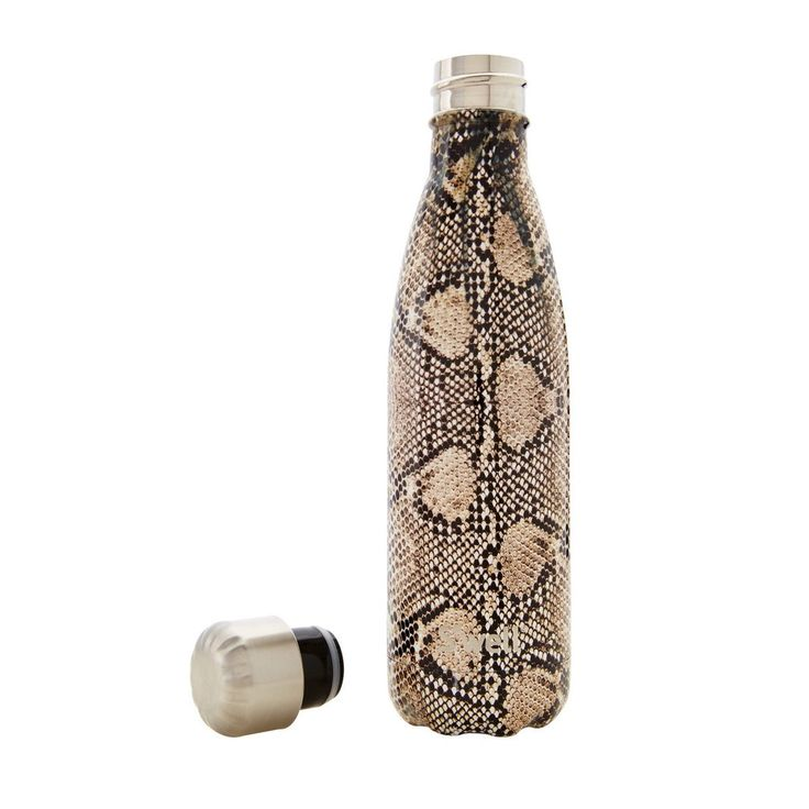 Swell Exotic - Sand Python Stainless Steel Insulated Drink Bottle 500ml