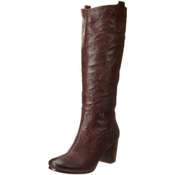 frye s carson mid heel tab knee high boot 214