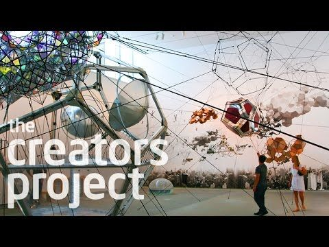 World-renowned artist Tomás Saraceno sits down with The Creators Project to talk about the architecture of flying buildings, spider web...