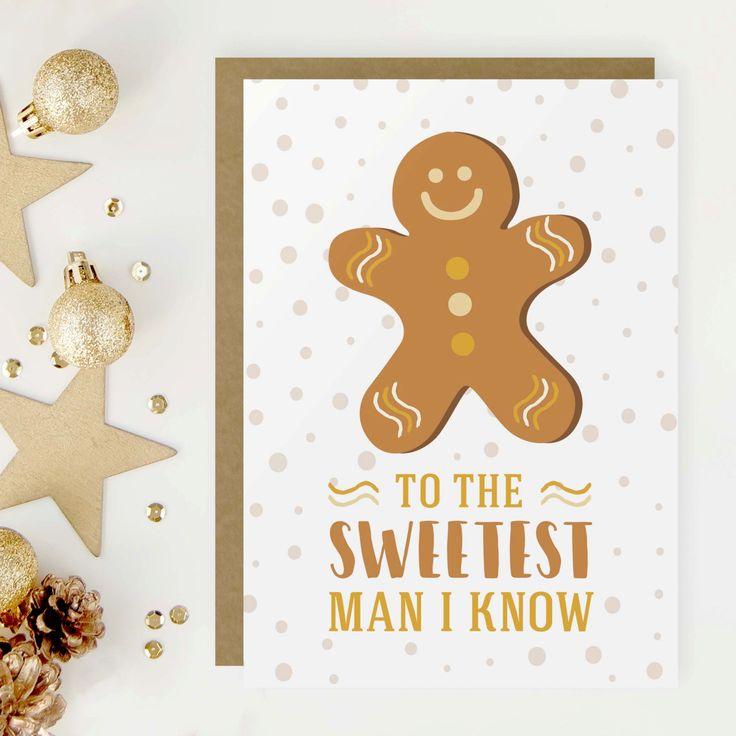 Christmas card | Xmas gift idea for boyfriend #longdistancecard #giftforboyfriend #boyfriendgift #greetingcards