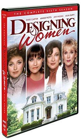 Dixie Carter & Annie Potts & David Steinberg-Designing Women: Season 6