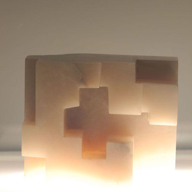 eduardo chillida, alabaster