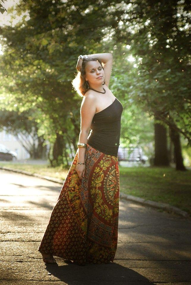indian skirts lookbook   ... Top, Vintage Skirt, Ecco Sandels, Six Bijou - Indian sunset   LOOKBOOK