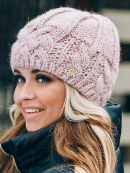 e133e64aa El hacer punto hermoso de las | knitting dámske pletené čiapky | Pletenie,  Háčkovanie, Pletenie a háčkovanie