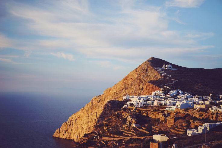 The best Greek island, Folegandros, Greece. Follow Kristin Thorogood Photography.