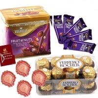 Send chocolates and other products online to Philippines at cheap and discounted rates and for free delivery.