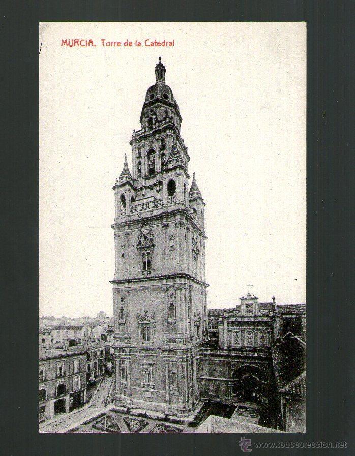 MURCIA TORRE DE LA CATEDRAL - Edición THOMAS - Postal (Postales - España - Murcia Antigua (hasta 1.939))