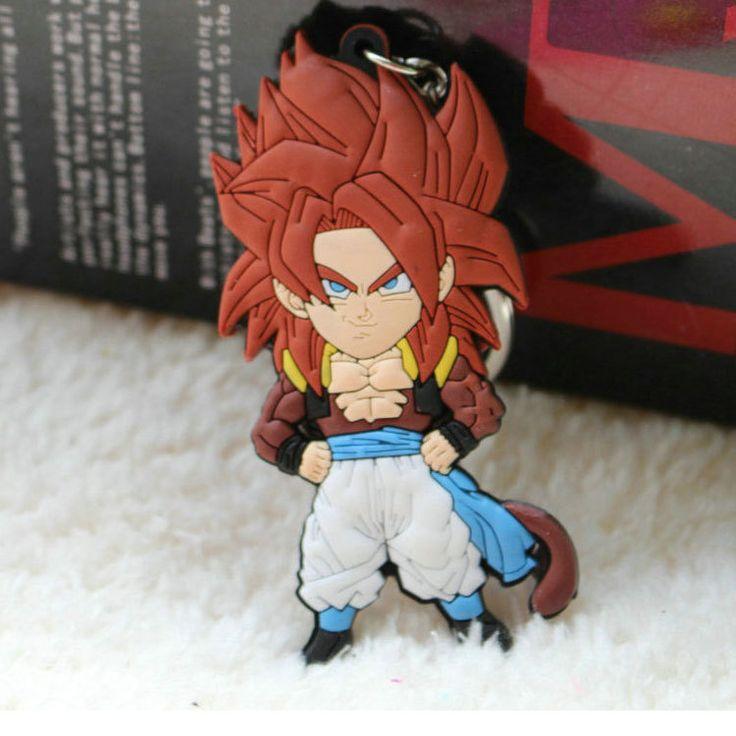 """Porte clé DRAGON BALL Z- """"Gogeta Super Sayen 4 """"Dragon Ball GT"""