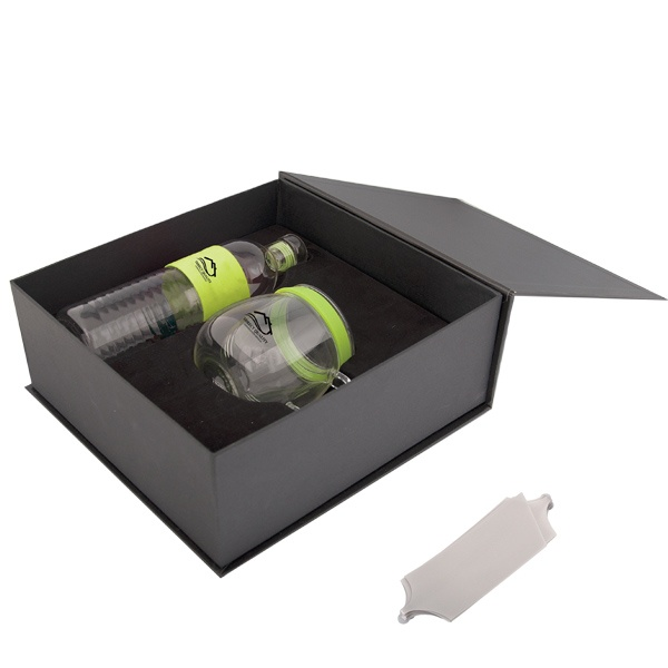 PK4012 - GLASS TEA CUP AND WATER BOTTLE GIFT SET - Debco Your Solutions Provider Contact us today info@promoME.ca Www.promoME.ca