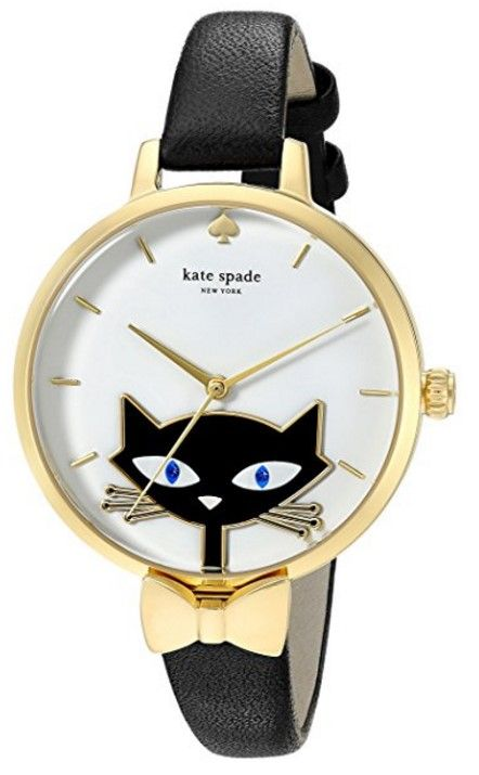 Kate Spade Metro Cat Watch Giflts for Cat Lovers