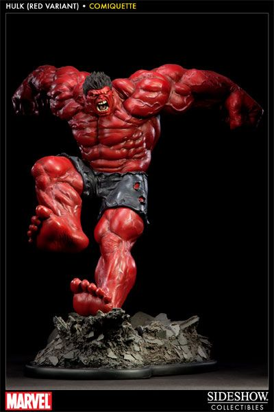 Sideshow Collectibles - Red Hulk Polystone Statue