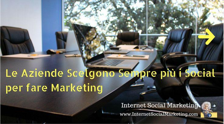 Sempre più numerose le aziende che stanno orientando il proprio Marketing sui Social Network.. ECCO perché è Importante Imparare le tecniche per Lavorare sui Social..   LEGGI--->
