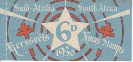 UNION SA 1950 6D CHRISTMAS BOOKLET COMPLETE