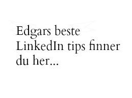 LinkedIn er verdens største profesjonelle sosiale nettverk, et nyttig verktøy for alle som ønsker å skifte jobb. #LinkedIn tips