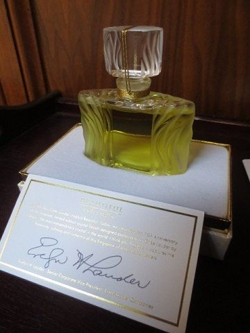 Estee Lauder Beautiful Perfume Lalique Bottle 15th Anniversary Limited Ed. 1 fl oz  Rare Luxury by ChickieVintageLove on Etsy