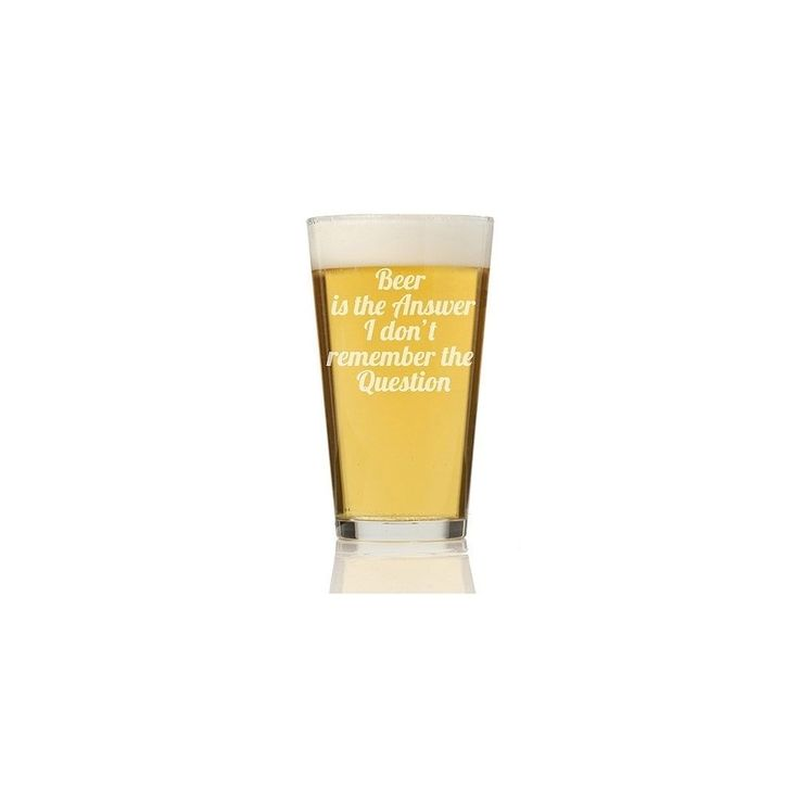 Madison Beer is the Answer Pint Glass
