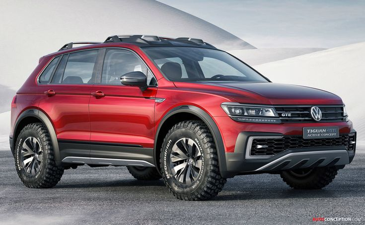 Volkswagen Tiguan GTE Active Concept Previews a New Generation of SUVs