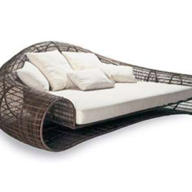 Outdoor Furniture Id Like To Have. Wide Couches With Low Backs That Arenu0027t