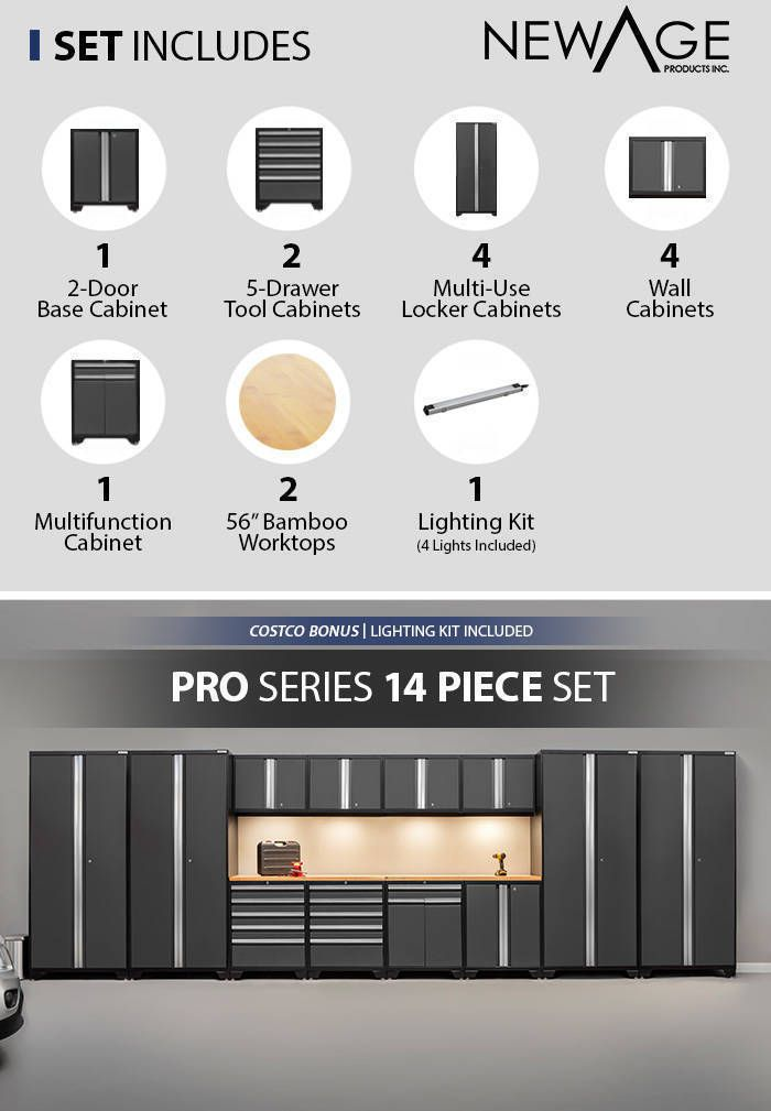 Newage Products Pro 3 0 Series Storage