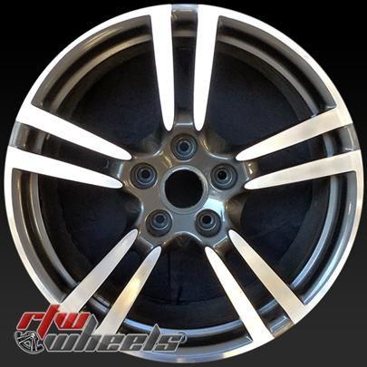 "20"" Porsche Panamera oem wheels for sale 2010-2016 Machined Charcoal rims 67415 - https://www.rtwwheels.com/store/shop/20-porsche-panamera-oem-wheels-sale-machined-charcoal-stock-rims-67415/"