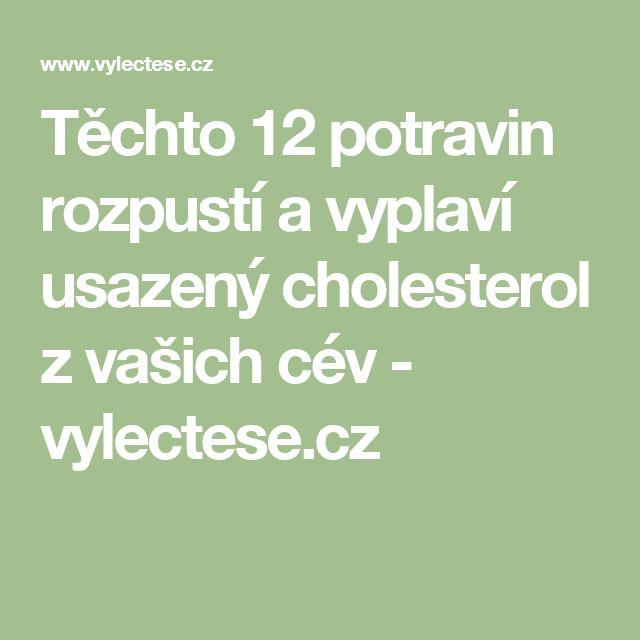 Těchto 12 potravin rozpustí a vyplaví usazený cholesterol z vašich cév - vylectese.cz
