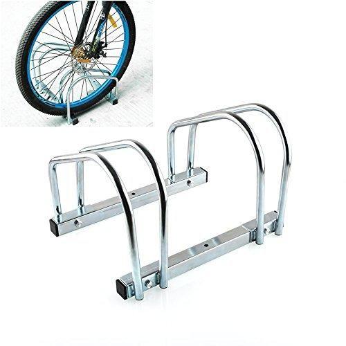 Ofertas de Femor Aparca Bicicleta Soporte Para Bicicleta Suelo Pared Aparcamiento de bicicletas Parking de 2 Bici