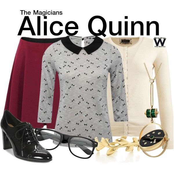 Inspired by Olivia Taylor Dudley as Alice Quinn on The Magicians