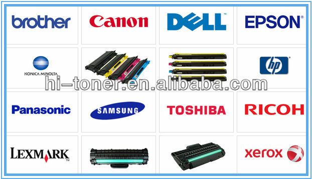 Wholesale toner cartridges for Samsung HP Brother Canon Epson Lexmark Dell Ricoh Xerox Factory direct sell