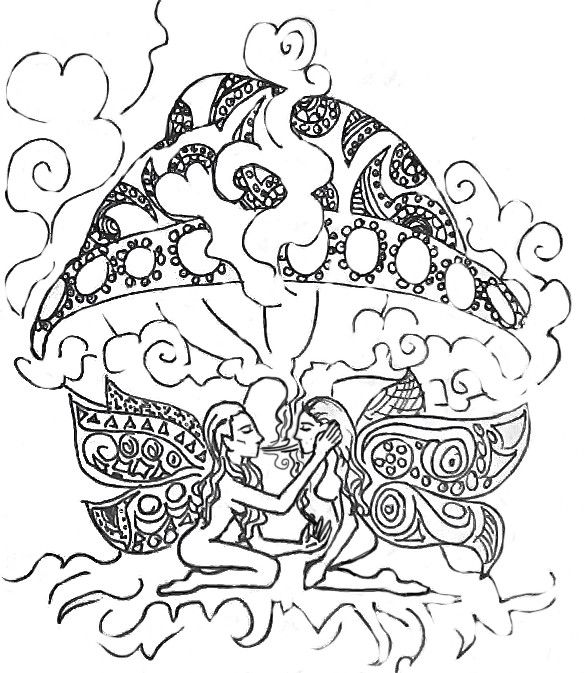 133 best unique adult coloring books and pages images on for Printable stoner coloring pages