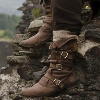 I really want Merlin's boots- @Kelsey Myers Seitz it's subliminal messaging- those set directors know they're cute!!