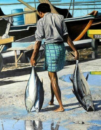 Fisherman by Ali Adam Manik
