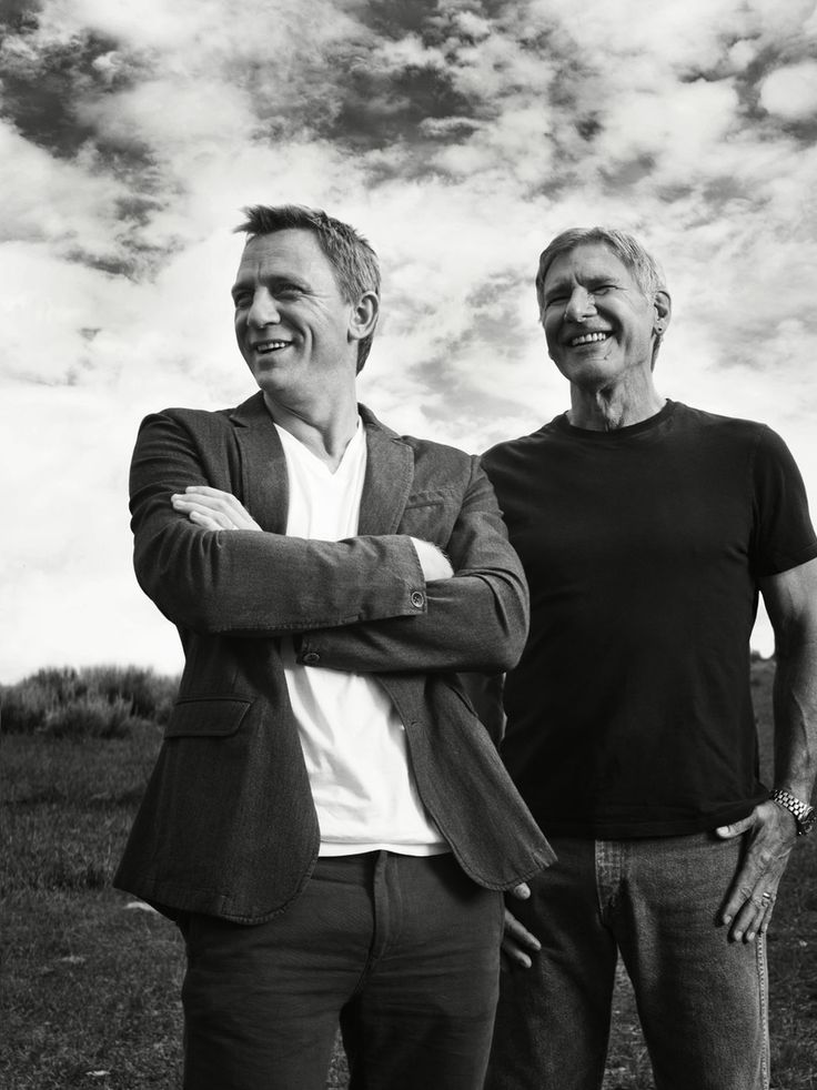 Harrison Ford and Daniel Craig  - Axion thinks they would choos ethe Axion Aero GMT V@ Black Pilots Watch