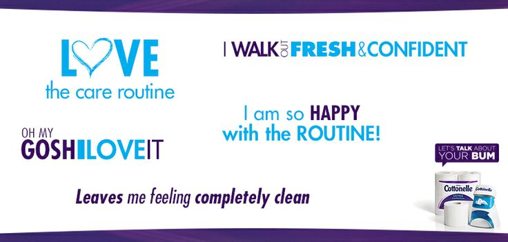 The Cottonelle Care Routine is getting rave reviews.Cottonel Care, Cottonell Care, Care Routines