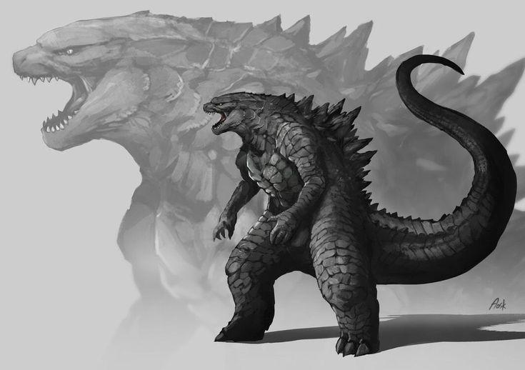 Legendary Godzilla, Kong, Rodan and King Ghidorah Monsterverse Fan Art! - Godzilla 2: King of the Monsters Movie News
