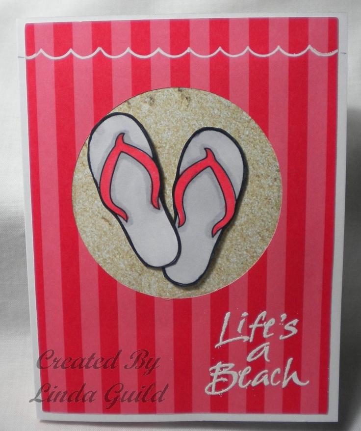 Nothin' Fancy: Life's a Beach Card