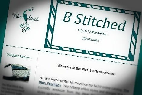 Sign up for the Blue Stitch newsletter to receive exclusive coupons and deals