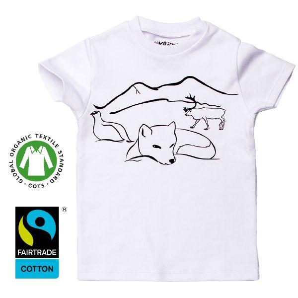 www.klappi.se #Ekologiskabarnkläder från #Lappland #norrland. #eko #ekoreko #ekologisk #svenskdesign #ekokläder #giftfritt #kläppi #klappi.se Product: #t-shirt #tshirt #grey #white #vit #Lapland #arcticfox #fox #fjällräv #räv #reindeer #ren #grouse #ripa. #eco #oekotex100 #lovefromlapland #swedishlapland #fairtrade #organiccotton #organic #scandinavian #schwedischen #organickidswear #kidsfashion #sustainablefashion #sustainable #gots #swedish #swedishdesign #swedishbrand