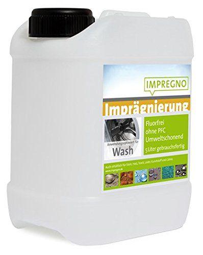 """IMPREGNO Imprägnierung """"Wash"""" 5 Liter Waschmaschine/Handwäsche Imprägniermittel fluorfrei umweltfreundlich IMPREGNO http://www.amazon.de/dp/B0185RMC9G/ref=cm_sw_r_pi_dp_tGnLwb1GW7MX5"""